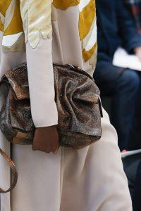 Valentino Brown Lizard Shoulder Bag - Fall 2018