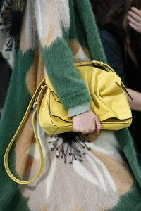 Valentino Yellow Suede Shoulder Bag - Fall 2018