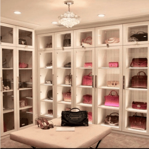 Bag Closet Organization 12