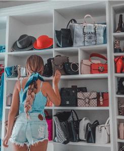 Bag Closet Organization 18