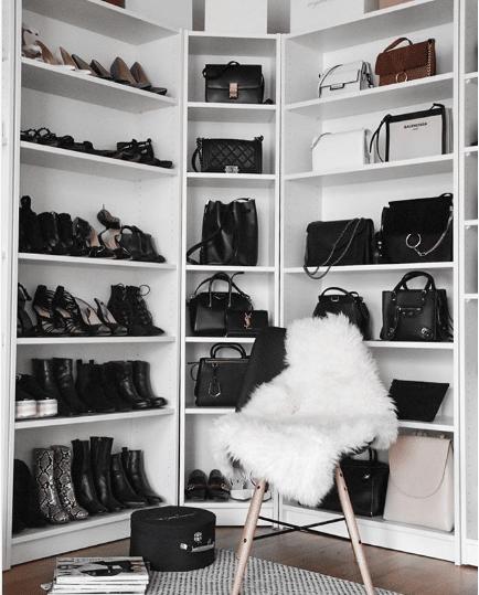 Superbe Bag Closet Organization 4