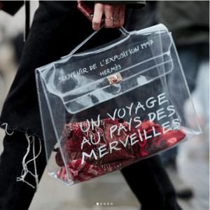 Designer Transparent Bag