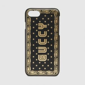 Gucci Black Guccy Print iPhone 7 Case