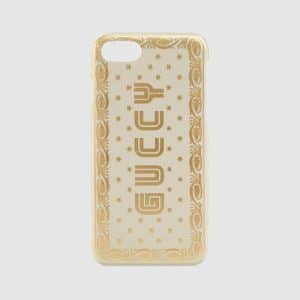 Gucci White Guccy Print iPhone 7 Case