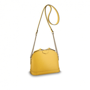 Louis Vuitton Citron Epi Mini Alma Chain Bag