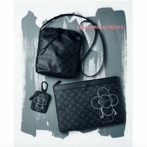 Louis Vuitton Monogram Shadow Sac Nano Bag and Vivienne Eclipse Small Leather Goods