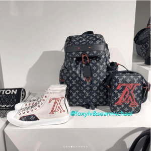 Louis Vuitton Monogram Upside Down Canvas Bags and Shoes