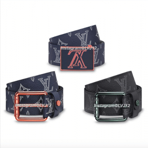 Louis Vuitton Monogram Upside Down Canvas Belts 2