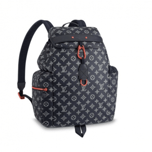 Louis Vuitton Monogram Upside Down Canvas Discovery Backpack Bag