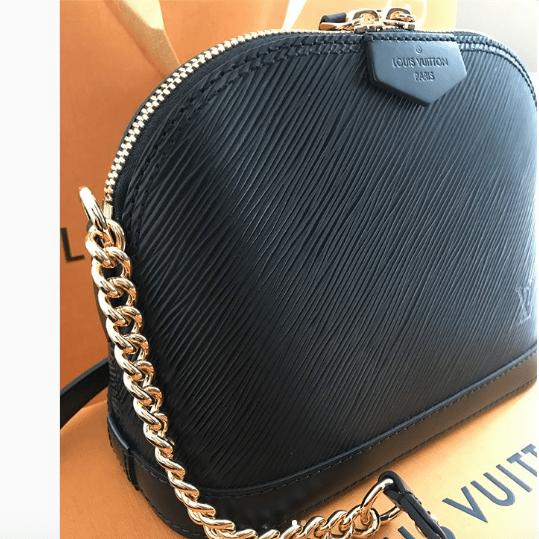 Louis Vuitton Mini Alma Chain Bag Reference Guide