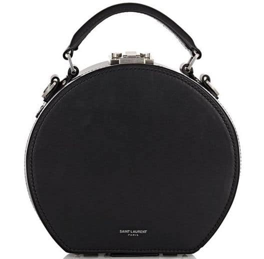 Saint Laurent Small Mica Hatbox Bag