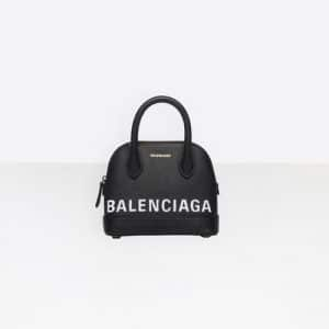 Balenciaga Black Ville Top Handle XXS Bag