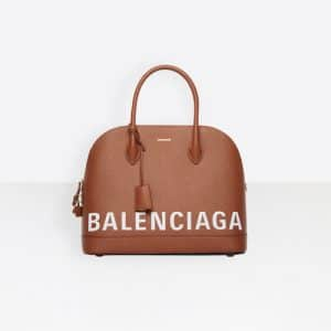 Balenciaga Caramel Ville Top Handle S Bag