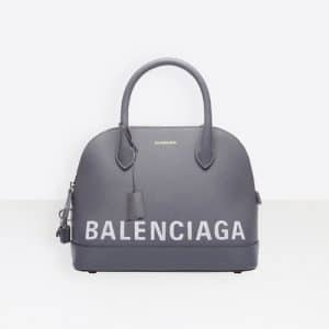 Balenciaga Gris Perle Ville Top Handle M Bag