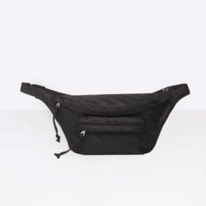 Balenciaga Jacquard Logo Wheel Belt Pack Bag