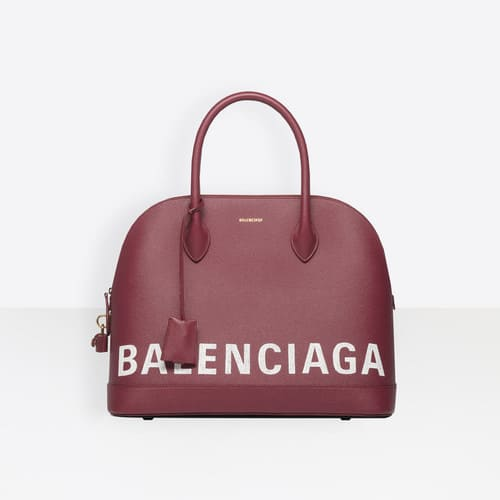 Balenciaga Rouge Grenat Ville Top Handle M Bag 3d010936303b3