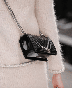Chanel Black/Silver Boy Bag - Cruise 2019