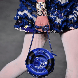 Chanel Blue/Black Lifebuoy Mini Bag - Cruise 2019