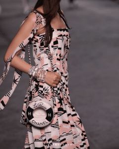 Chanel Pink/Black Lifebuoy Mini Bag - Cruise 2019