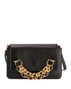 Chloe Black Drew Bijou Clutch Bag