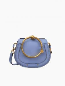 Chloe Light Blue Nile Small Bracelet Bag