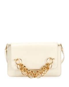Chloe White Drew Bijou Clutch Bag