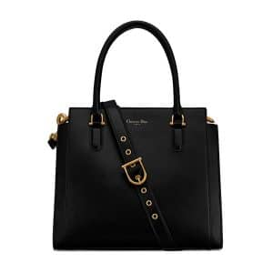 Dior Black 21st Large Shopping Bag