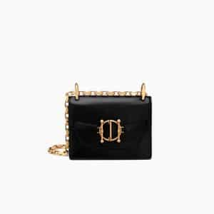 Dior Black Diordirection Flap Bag