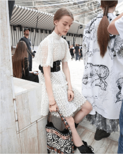 Dior Black Embroidered Hobo Bag - Cruise 2019