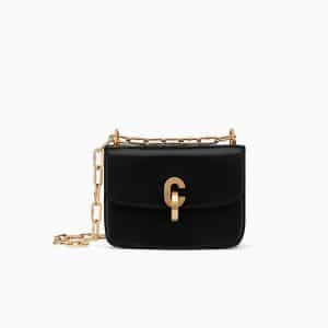 Dior Black Lambskin Dior21st Flap Bag