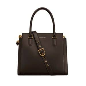 Dior Brown 21st Large Shopping Bag