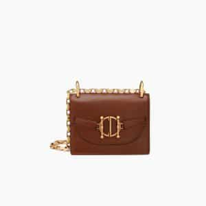 Dior Brown Diordirection Flap Bag