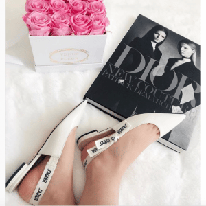 Dior Patent J'adior Ballerina Pumps 2