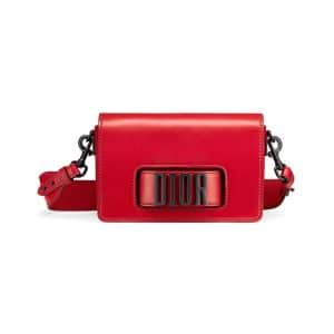 Dior Red Dio(r)evolution Medium Flap Bag