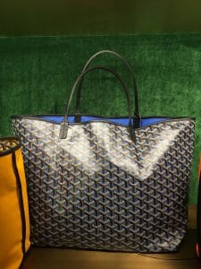 Goyard Blue Saint Louis Claire Voie Tote Bag