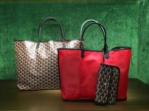Goyard Red Saint Louis Claire Voie Tote Bag 2