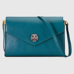 Gucci Blue Medium Shoulder Bag