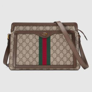 Gucci GG Supreme Medium Shoulder Bag