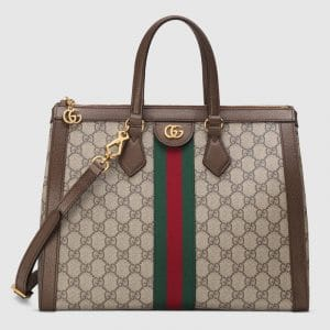 Gucci GG Supreme Ophidia Medium Tote Bag