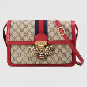 Gucci GG Supreme Queen Margaret Medium Shoulder Bag