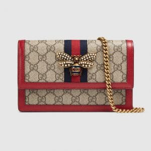 Gucci GG Supreme Queen Margaret Mini Shoulder Bag
