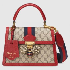 Gucci GG Supreme Queen Margaret Small Top Handle Bag