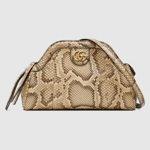Gucci Natural Python RE(BELLE) Small Shoulder Bag