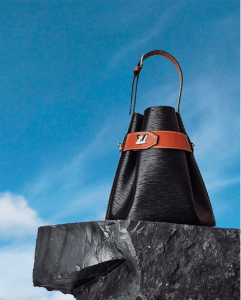 Louis Vuitton Black Epi Bucket Bag - Cruise 2019