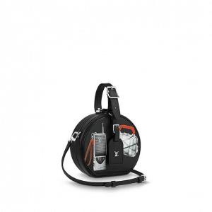 Louis Vuitton Black Stickers Petite Boite Chapeau Bag