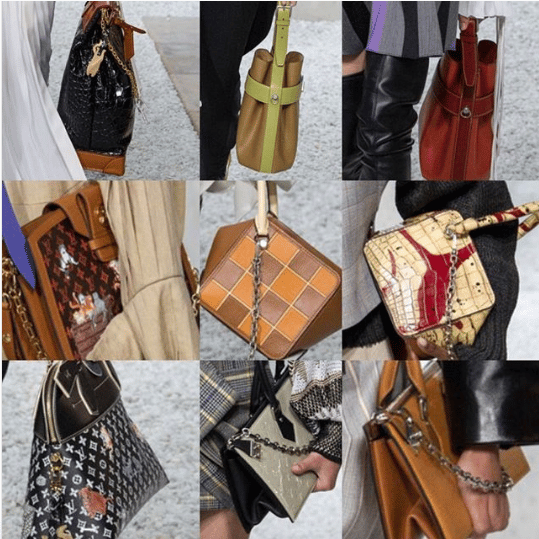 Louis Vuitton Cruise 2019 Runway Bag Collection   Spotted Fashion b5bfb3fa62