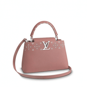 Louis Vuitton Magnolia Capucines Sweet Brogues PM Bag