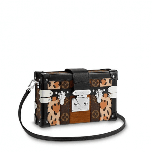 Louis Vuitton Monogram Canvas:Leopar Print Petite Malle Bag