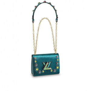 Louis Vuitton Multicolor Bubbles Twist PM Bag