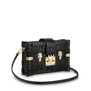 Louis Vuitton Noir Gravity Petite Malle Bag